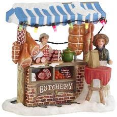 Venditore Di Salumi - Little Butcher Shop Cod. 612010 Presepe