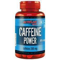 Caffeine Power 60 Caps - Activlab - Pre-allenamento Con Caffeina-