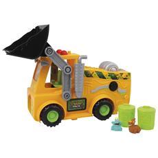 Trash Pack Bulldozer con Lancia Bidoni