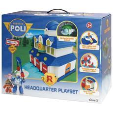 Robocar Poli Playset Quartier Generale
