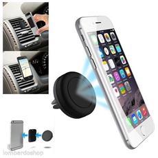 Supporto Magnetico Fissaggio Da Auto Bocchette Aria Universale Per Cellulare Smartphone