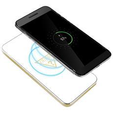 Base Di Ricarica Qi Smartphone Senza Fili 1a Glossy Guess - Bianco