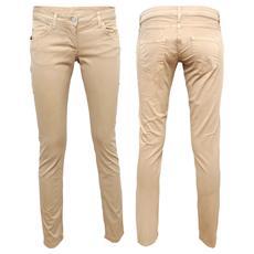 Pantaloni Donna 5 tasche KERRI Classic Size 44 Col. Beige