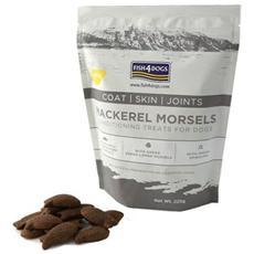 Snack per cani Mackerel Morsels Coat Skin Joint 225 gr