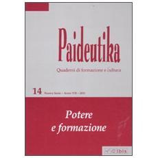 Paideutika. Vol. 14