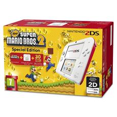 Console 2DS Bianco / Rosso New Super Mario Bros 2 Limited Edition