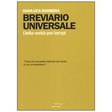 Breviario universale. Della verità per lampi