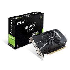 GeForce GTX 1050 Ti 4GB GDDR5 Pci-E / DL-DVI-D / DisplayPort 1.4 / HDMI 2.0b AERO ITX OCV1