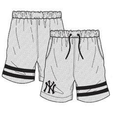 Short Anen New York Yankees Bianco Nero M