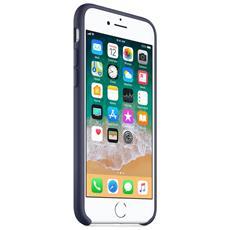 Custodia in Silicone per iPhone 8 e 7 Colore Blu Notte
