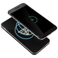 Base Di Ricarica Qi Smartphone Senza Fili 1a Glossy Guess - Nero
