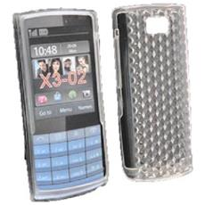 Silicone Case Nokia X3-02 Touch And Type Trasparente Prisma