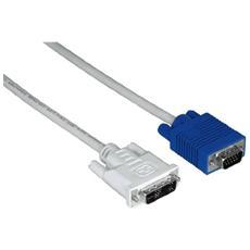 Adapter HDD-DVI Cable, 3m 3m VGA (D-Sub) Grigio