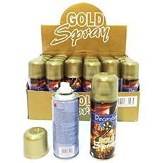 Bomboletta Spray 250 ml Colore Oro
