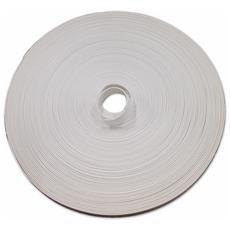 Cintino per Tapparelle in Pvc misura 20 mm colore Bianco Rotolo 50 mt