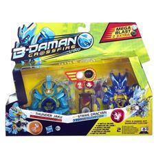 B-Daman Personaggio doppio con biglie Thunder Dracyan