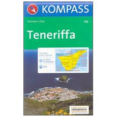 Carta escursionistica n. 233. Spagna. Isole Canarie. Teneriffa 1:50.000. Adatto a GPS. DVD-ROM. Digital map