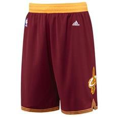 Pantaloncino Basket Replica Cleveland Cavaliers Rosso Giallo L