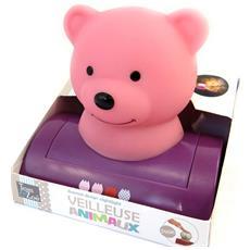 lampada notturna 'teddy' - [ l8944]