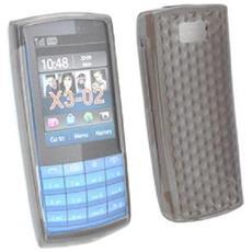 Silicone Case Nokia X3-02 Touch And Type Nero Prisma