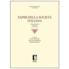 Papiri della società italiana. Vol. 16