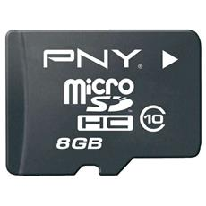 Hp Micro-sd Cards Class 10 With Sd Adaptor 8gb