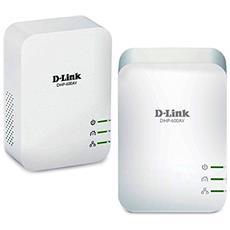 Kit PowerLine Gigabit AV2 1000 Colore Bianco