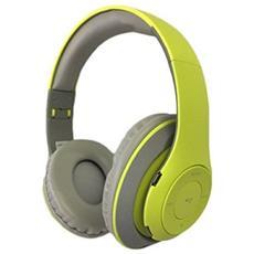 Auricolari Bluetooth Con Microfono Omega Freestyle Fh0916gg Verde Grigio