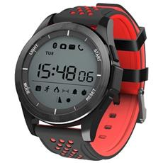 Smart Bracelet F3 Activity Tracker Digitale Fitness 1 Resistente all'acqua IP68 con Pedometro Calorie e Notifiche Red