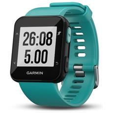 Forerunner 30 Impermeabile 5 ATM con GPS running watch colore Turchese