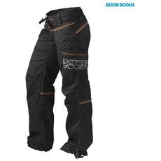 01f32c3b6151c6 BETTER BODIES - Contrasto Wind Pantaloni Da Fitness Neri / Arancio - Xs