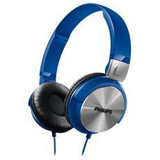 Cuffia Dj Style Shl3160bl Blu
