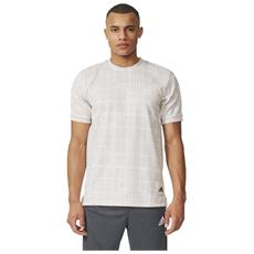 T-shirt Uomo Graphic Dna Bianco Grigio S