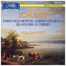 Franz Schubert - Streichquartette