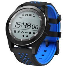Smart Bracelet F3 Activity Tracker Digitale Fitness 1 Resistente all'acqua IP68 con Pedometro Calorie e Notifiche Blu