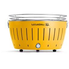 Barbecue XL da Tavolo Colore Giallo