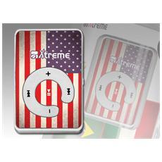 Lettore MP3 USA Flag 8GB