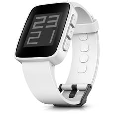 """Smartwatch Chronos Eco Display 1.26"""" LCD Bluetooth Android - Bianco"""