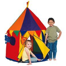 Tenda casetta special edition circus giocattolo giardino gioco bimbi plastica
