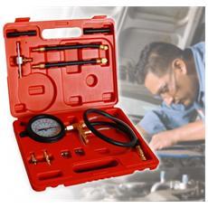 Tester Kit 10 Accessori Per Il Controllo Della Pressione Degli Impianti Di Iniezione