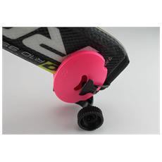 Portasci Tascabile Rosa – Mini-trolley Per Il Trasporto Degli Sci