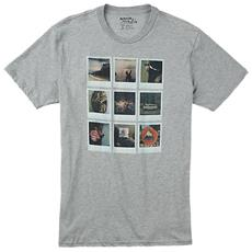 T-shirt Polaroid Uomo L Grigio