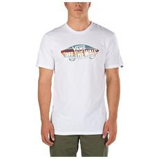 T-shirt Otw Logo Fill Bianco Fantasia M