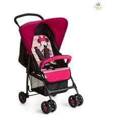 Sport Minnie Geo Pink Passeggino leggero 1seduta (e) Nero, Rosa