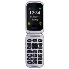 """SL690 Senior Phone Display 2.4"""" +Slot Micro SD con Tasti Grandi + Tasto SOS Fotocamera 3Mpx Colore Argento - Europa"""