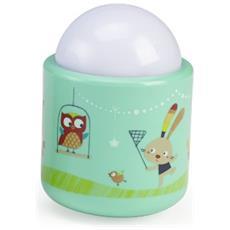 Nomade Power socket Verde LED luce da notte per bambino
