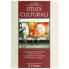 Studi culturali (2008) . Vol. 3