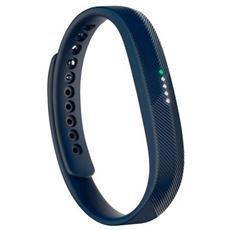 Flex 2 Braccialetto Impermeabile Wireless per monitoraggio Attività Fisica e Sonno - Blu Marino