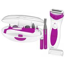Beauty Set 3 In 1 Epilatore Manicure E Pedicure Lbs 5676