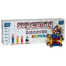 Supermag Magnetic Genius Multicolor 29 Pezzi
